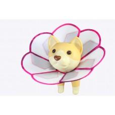 花朵防舔咬頭套【醫療板】(尺碼L)  **台灣新型專利設計**